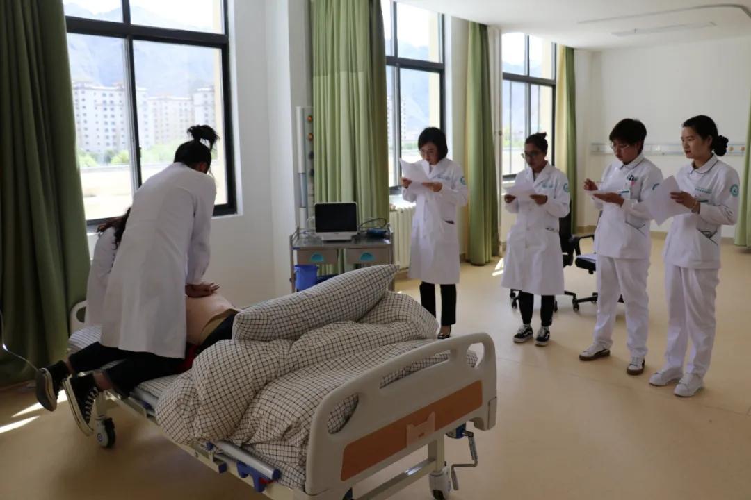 勤学苦练强本领,技能大赛显身手——四川省肿瘤医院拉萨分院(西藏康城肿瘤