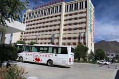 捐热血为国旗添彩  献爱心铸医者仁心 西藏康城肿瘤医院组织开展无偿献血活动